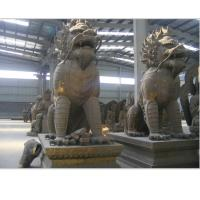 Wholesale bronze pair kylin sculpture from china suppliers