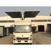 Wholesale Sinotruk HOWO Small Cargo Truck 6*4 2 Tons Wingspan Truck for Transporting Cargo from china suppliers