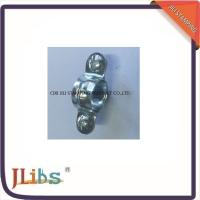 Wholesale Single Pipe Clamps M7 Without Rubber White Zinc Galvanize Metal Tube Clamps from china suppliers