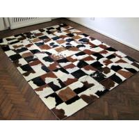Wholesale Luxury Cow Leather Carpert Rug Of Animal Hide&Skin For Home Decor from china suppliers