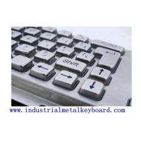Buy cheap NEMA4 , IK7 Industrial Keyboards With Trackball , Key Stroke Travel 4mm from wholesalers