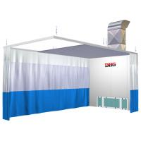 Wholesale Spray Booth Prep Stations / 6KW 380V Preparation Station For Car from china suppliers