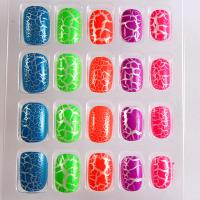 Wholesale Colorful Kids Pre Glued Fake Nails / natural looking fake nails from china suppliers