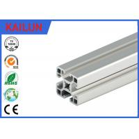 Wholesale Silver Anodized Square T Slot Aluminum Linear Rail For Coach Framing System 40 Mm Width from china suppliers