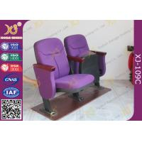 Wholesale Low Back Plastic Back Church Hall Chairs / Seating Noise Free Returning from china suppliers