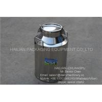 Wholesale 40L Liquid Thermal Insulation Milk Bucket , Stainless Steel Milk Can from china suppliers