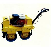 Wholesale Walk Behind Double Drum Hydraulic Vibratory Road Roller of Construction Machinery from china suppliers