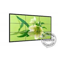Wholesale 1.8mm 4K LCD Screen Wall 700cd / m2 , Industrial Grade DID Video Wall 2*2 Sound Media Player from china suppliers
