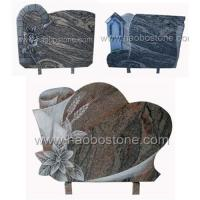 Wholesale Granite ,marble stone memorial plaques HBP-0652 from china suppliers