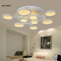 Wholesale Remote control Living room bedroom modern led ceiling lights luminarias para sala dimming led ceiling lamp deckenleuchte from china suppliers
