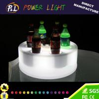 Wholesale Bar Furniture Flashing Multicolor Changing LED Wine Tray from china suppliers