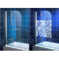 Wholesale High Purity Clear Bath Shower Screen , Single Tempered Glass Panel from china suppliers