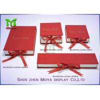 Wholesale Paper Board Printed Custom Gift Packaging Boxes , earring / apparel gift boxes from china suppliers