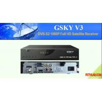 Buy cheap GSKY sat receiver for Powervu Latin American from wholesalers