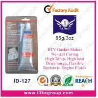 Quality High Modulus Silicone Sealant / Grey RTV Gasket Maker For Concrete And Marble for sale