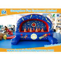 Buy cheap Outdoor / Indoor Inflatable Sport Games , Inflatable Nerf Shootout Game from wholesalers