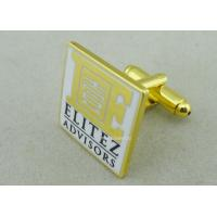 Wholesale Customized Personalized Tie Bar For Business Gifts / Hard Enamel Promotional Cufflink from china suppliers