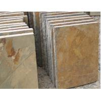 Wholesale Rusty Slate Wall Caps,Natural Wall Top Stone,Column Caps,Pillar Caps,Pillar Top Multicolor Stone from china suppliers