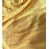 Wholesale Microfiber 150cm width 550gsm Yellow Coral Fleece High Quality 150D/144F Cleaning Cloth from china suppliers