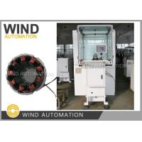 China 1.8mm AWG13 Big Copper Wire Coil Winding Machine For Brushless Motor Stator on sale