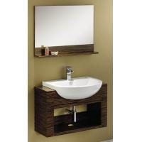 Wholesale Skilled Carpenter and Nails No Cracks Wooden Bathroom Base Cabinet  from china suppliers