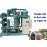 Buy cheap Waste Oil Recycling Machine / Hydraulic Oil Decolor Regeneration Equipment from wholesalers