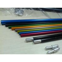 Wholesale Extrusion Aluminum Alloy T6 Aluminium Tube Peeling , Colored from china suppliers