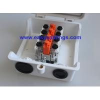 Wholesale Plastic Network Distribution Box with 4pair Subscribe Connector VX-SB Module for Telecom Outside Plant from china suppliers