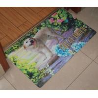 Buy cheap Microfiber Washable Rubber Floor Carpet , Rectangular Kitchen Floor Mats from wholesalers