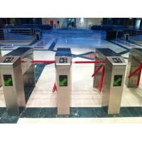 Wholesale Fingerprint Access Control Tripod Turnstile With Counter Security Tripod Barrier from china suppliers