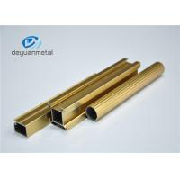 Wholesale Standard Polishing Golden Extruded Aluminum Framing For Decoration GB5237.1-2008 from china suppliers