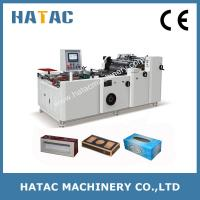 Wholesale Automatic Tissue Paoer Boxes Making Machine,Windwo-box Forming Machine from china suppliers