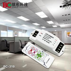 Quality Mini RF Remote control 12V 24V 36V 48V single color PWM 350mA 700mA LED Dimmer for sale