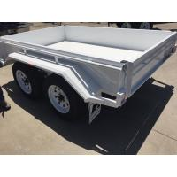 Quality Industrial 10x5 Heavy Duty Tandem Axle Painted Trailer 2000KG With Mudflaps for sale