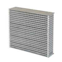 Wholesale Customized Aluminum inter cooler core for air to air heat exchangers from china suppliers