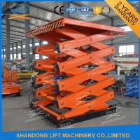 Quality Heavy Loading Cargo Elevator Warehouse Vertical Stationary Cargo Lift With CE for sale