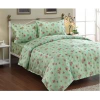 Wholesale Lace / Woven Linen Bed Sheets for Home , Cotton Patchwork Quilt Bedding Set from china suppliers
