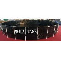 Buy cheap New design products portable flexible cube structure fish farming tanks for sale from wholesalers