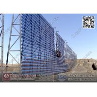 Quality HESLY Wind & Dust Suppressing Fence System for Coal Storage Yard | China Supplier for sale