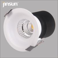 Wholesale non-adjustable IP65/54 LED spotlight with white lamp frame and self design heatsink from china suppliers