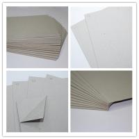 Quality 1000g grey board paper gray grey paperboard book binding board for grey paper board for sale