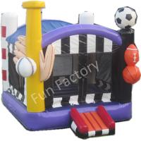 Wholesale ODM Waterproof Inflatable Bounce House , Large Sports Bounce House For Kids from china suppliers