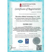 Shenzhen HiLink Technology Co.,Ltd. Certifications