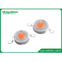 Wholesale Brightest 1w 3w High Power Led Chip For Led Grow Tubes , Led Bridgelux Chip from china suppliers
