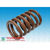 Wholesale High Tensile Steel Machinery Springs / Industrial Spring Brown Powder Coated from china suppliers