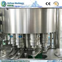 Quality 7500kg Weight Water Rotary Filling Machine 3000 Bottles Per Hour Pure for sale