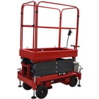 Wholesale Red Mobile Elevated Working Platforms , 2.25 × 1.16 × 1.11m Hydraulic Scissor Lift from china suppliers