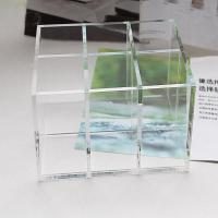 Wholesale Clear Acrylic Cosmetic Display desktop Cosmetic lipstick Organizer from china suppliers