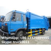 Wholesale 2017s best price dongfeng 12cbm garbage compactor truck for sale, hot sale dongfeng refuse garbage truck for sale from china suppliers