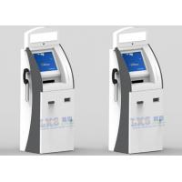 Wholesale A4 Laser Printer Telekiosk Bill Acceptor Payment Kiosk , 3 Tracks USB MSR Wireless Card Reader from china suppliers